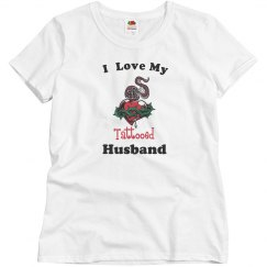 Loves tattooed husband