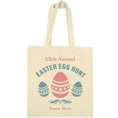 Customizable Easter Egg Hunt Bag
