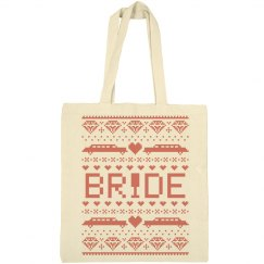 Christmas Bride Tote Bag