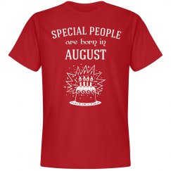 Special people are born august