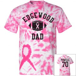 Rams Dad Cancer Tee
