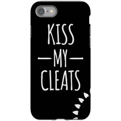 Kiss My Cleats Phone Case