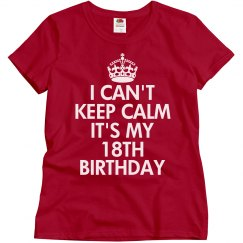 It's my 18th Birthday