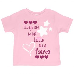 Toddlers So Fierce Tee