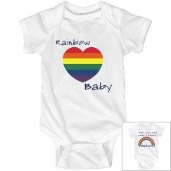 Rainbow Baby Onsie
