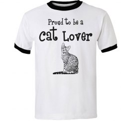 Proud cat lover