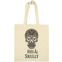 Holá Skully Tote Bag