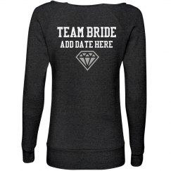 Team Bride Custom Fleece