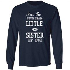 football sister long sleeve tshirt