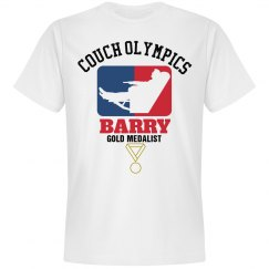 Barry. Couch Olympics