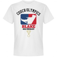 Blake. Couch Olympics