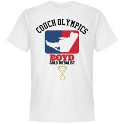 Boyd. Couch Olympics
