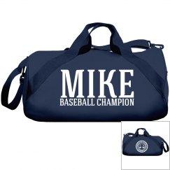 Mike, Baseball Champ