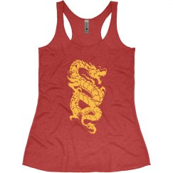 Chinese Dragon Tank Top