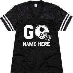 Go Tyler Football Jersey