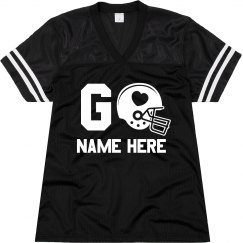 Go Tyler Football Jersey