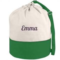 Custom Name Tropical Bag