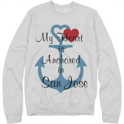 Anchored in San Jose