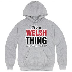 It's a Welsh thing