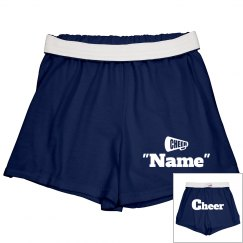 Personalized cheer shorts