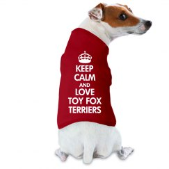 Love toy fox terrier