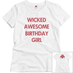 Wicked awesome birthday girl