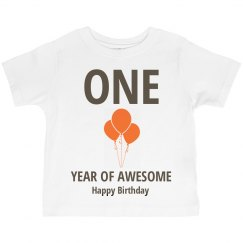 One year of awesome