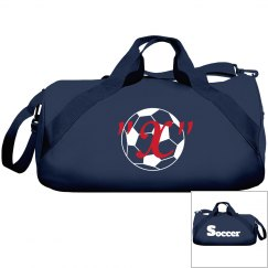 Monogram this soccer bag