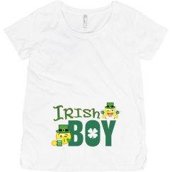 Irish Boy Maternity shirt