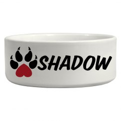 Shadow, Dog Bowl