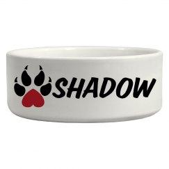 Shadow, Dog Bowl