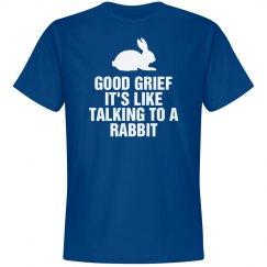 Talking to a Rabbit