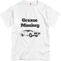 Grease monkey tshirt