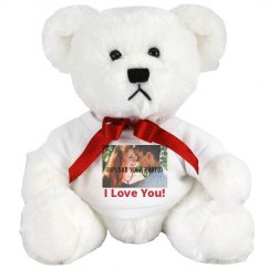 Custom Photo Valentine's Bear Gift