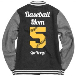 Lace Numbers Baseball Mom