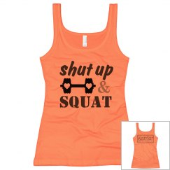 Wellness Warrior Apparel Squat 2