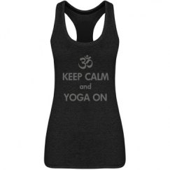 Keep Calm & Yoga On Tank