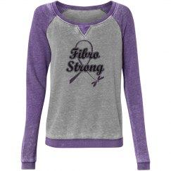 Fibro Strong Faded Sweatshirt