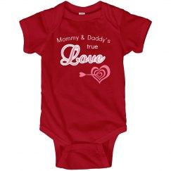 True Love Daddy Mommy Valentine