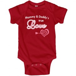 True Love Daddy Mommy Valentine