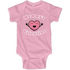 Mommy's Valentine Onesie