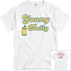 Young Daily White Tee