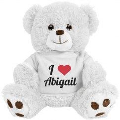 I love Abigail