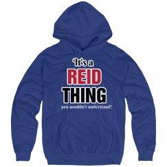 It's a Reid thing