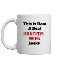 how hunters wife looks
