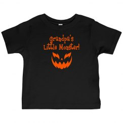 Halloween Toddler Shirt - G-Pa Monster