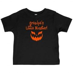 Halloween Toddler Shirt - G-Pa Monster