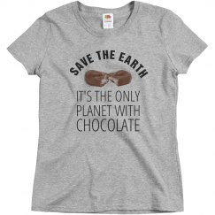 Only Planet With Chocolate