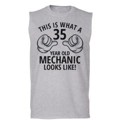 35 year old Mechanic