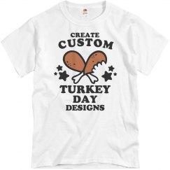 Custom Turkey Day Designs